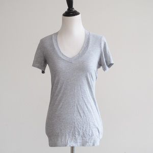 James Perse Gray Tee 1 (SMALL)